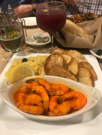 Westport, MA: Shrimp Mozambique