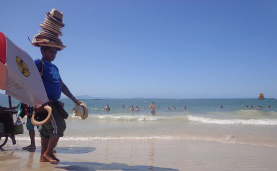 Canasvieiras, SC: Aguas tranquilas...