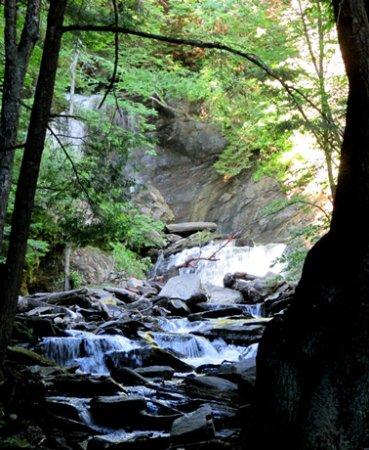 Strafford, VT: Old City Falls Stream