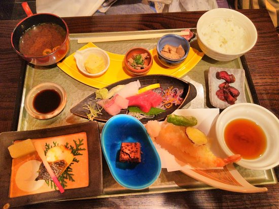 Kainan, Japan: 塩梅定食