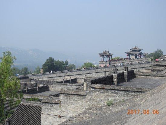 Lingshi County, الصين: 王家大院一景