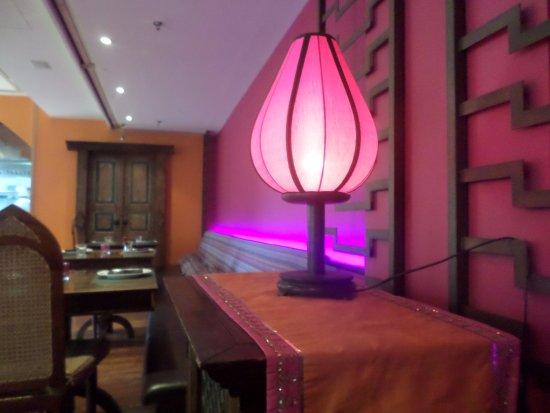 Vedas Indian Restaurant (Changshu Road): Lovely Interior