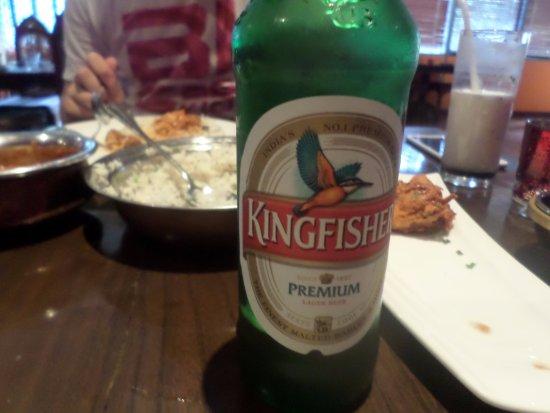 Vedas Indian Restaurant (Changshu Road): Kingfisher