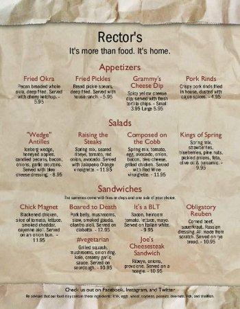 Rector S Restaurant Hot Springs Ar
