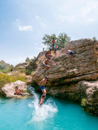 Bullas, Spain: salto del Usero