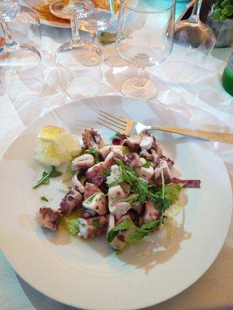 La Locanda del Postino: insalata di polipo