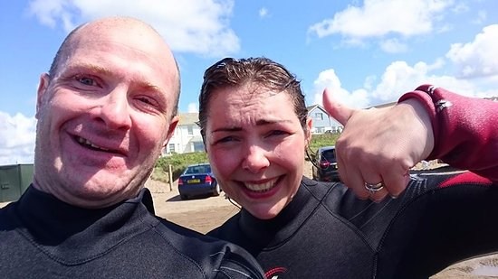 Bude, UK: Freewave gets a full thumbs up!