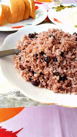 La Colonial: Rice and beans.