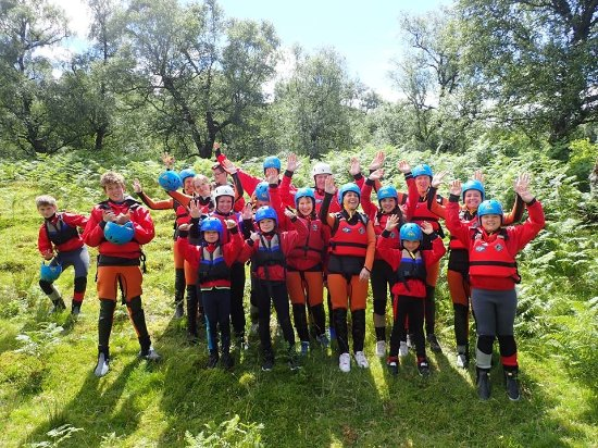 Active Highs: Large family gorge walking adventure
