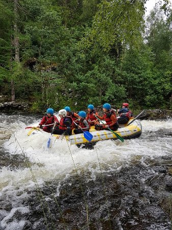 Active Highs: Getting wet in the last wave of the river garry
