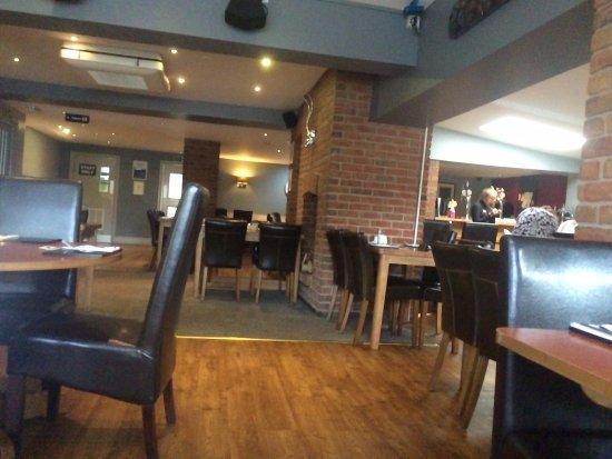 Ripley, UK: Dining Area