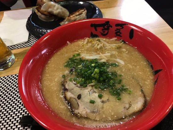 Hakata Choten: Soupe ramen au porc