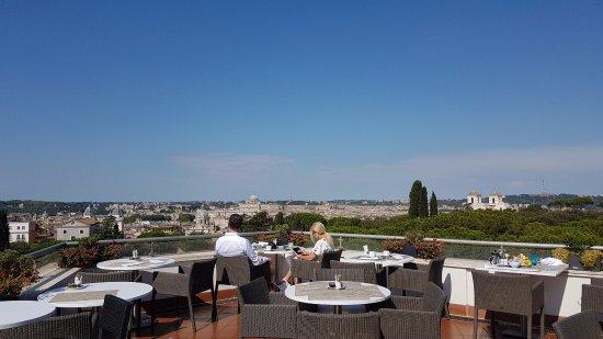 Sofitel Rome Villa Borghese: View from the restaurant & bar - Stunning!