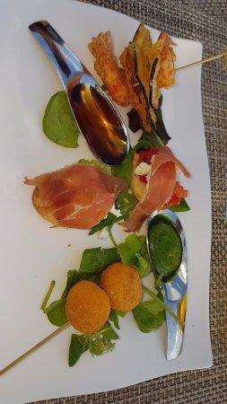 Sofitel Rome Villa Borghese: Delicious tapas plate!