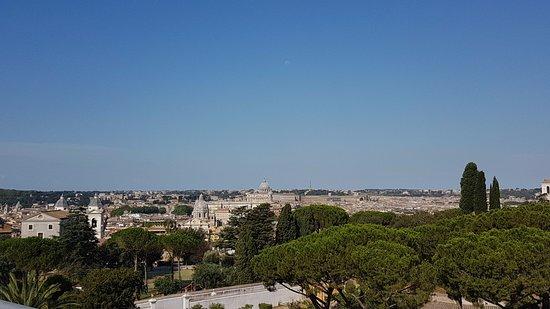Sofitel Rome Villa Borghese: Views Views Views - best in Rome!