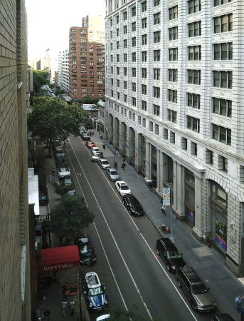 Seafarers & International House: from 8th floor, 15th st.