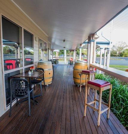 Witta, Australia: Front Deck
