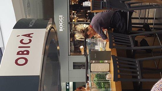 Ferno, Italie : Obicà Mozzarella Bar - Malpensa