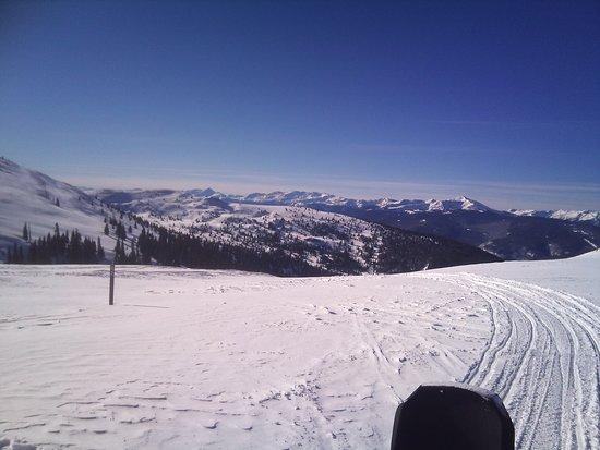 Red Cliff, CO: Snowmobile Trail 2012