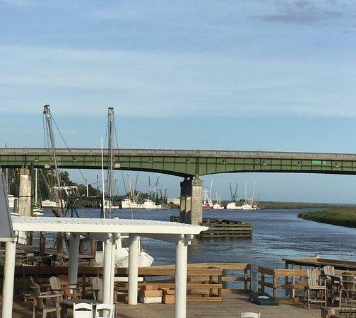 Darien, GA: Shrimp boats bringing the shrimp