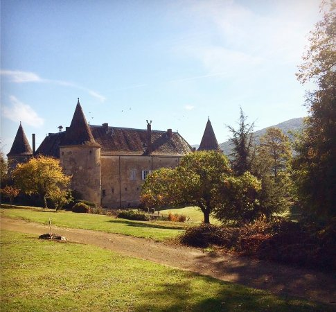 Quincie-en-Beaujolais, France : Château de Varennes