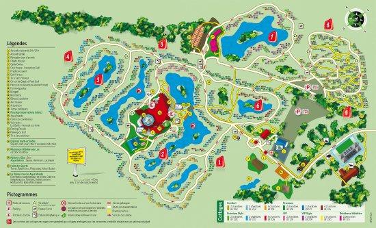 Bois Francs Plan Center Parc Normandie