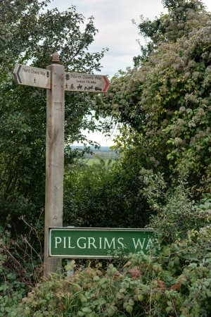 Boughton-under-Blean, UK: The Pilgrims' Way/North Downs Way- (photographer R.Brown)