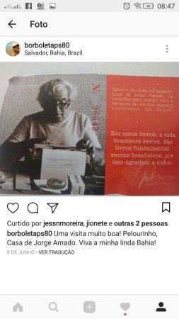 Fundação Casa de Jorge Amado : Screenshot_20170812-084740_large.jpg