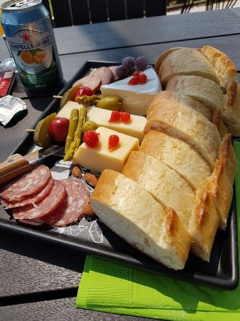 Creston, Канада: The gorgeous platter!