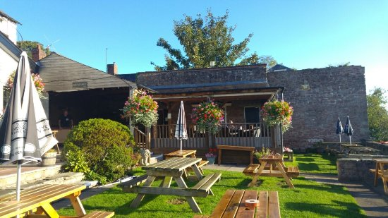 Ross-on-Wye, UK: Beer Garden