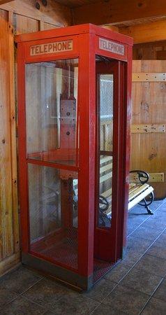 Dobson, NC: British Phone booth