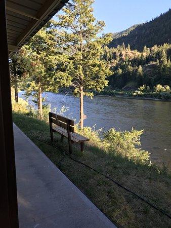 Alberton, MT: View from Cabin Door