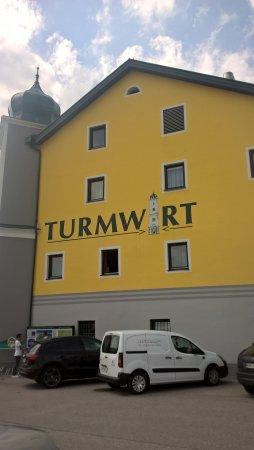 Muerzhofen, Austria: Ansicht vom Parkplatz