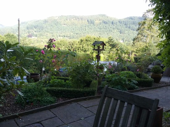 Llety Betws: View from rm 5