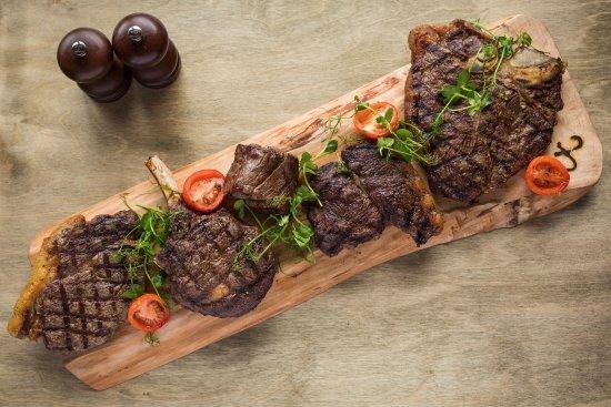 Charlestown, UK: We do love our Cornish steaks