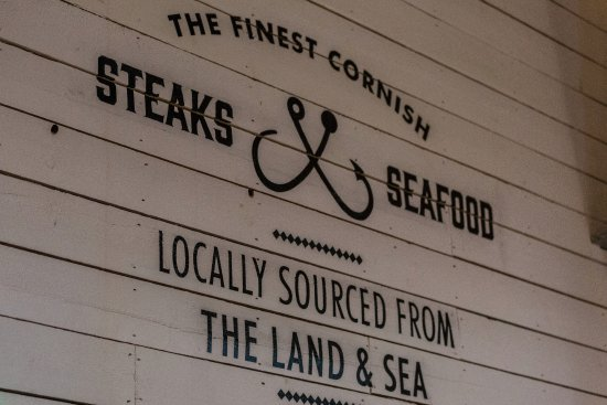 Charlestown, UK: The finest Cornish steaks and seafood