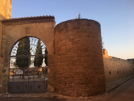 Villanueva de la Jara, Spanje: Basílica por fuera