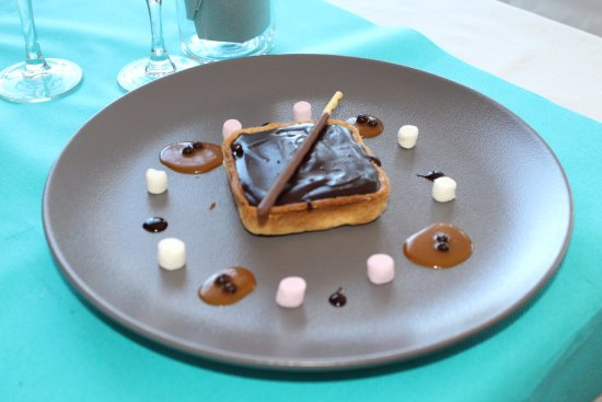 Goderville, Francia: Tartelette Chocolat Caramel