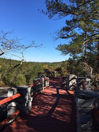 Stockbridge, GA: View from the Rock Outcrop Trail