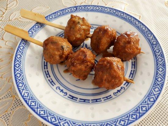 Saint-Martin-de-Crau, Γαλλία: Boulettes de poulet