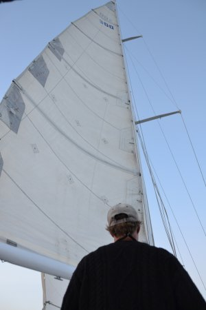 Poet's Lounge Sailing Charter -  Day Tours: A captain and his sailboat