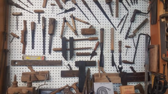 Athlone, Irland: Dad's tools