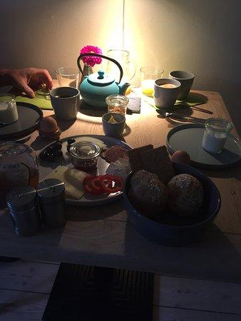 Haslev, Denemarken: Sehr gutes Frühstück