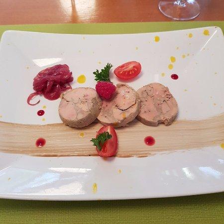 Porrentruy, Schweiz: foie gras maison