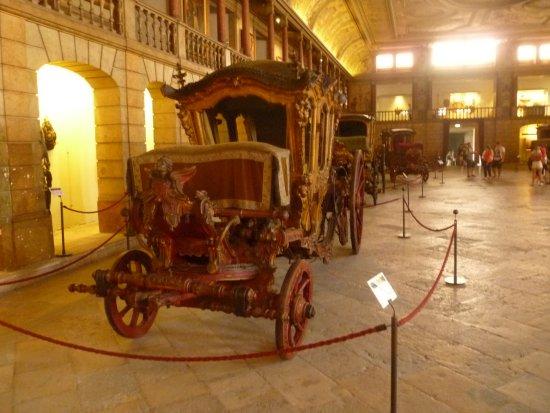 Museu Nacional dos Coches: крупный план одной из карет