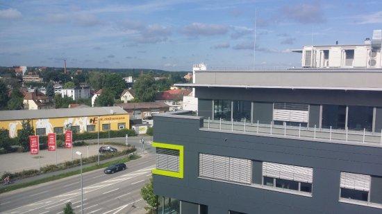 Schwabach, Alemania: Aussicht Richtung Altstadt