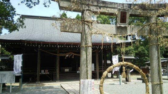 Miyaki-cho, Japan: 茅の輪