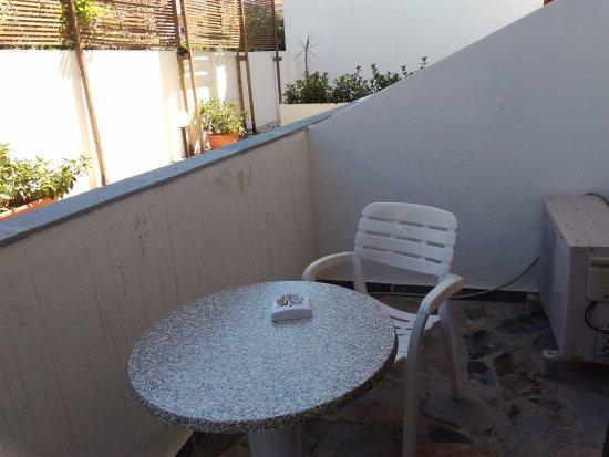 Hotel Calypso : Room terrace
