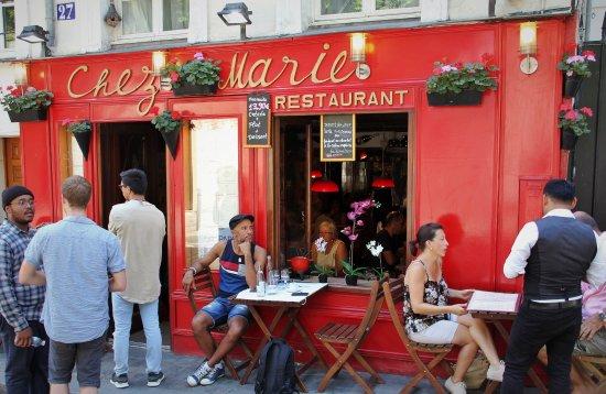 Chez marie paris montmartre restaurant reviews phone for Restaurant chez marie marseille
