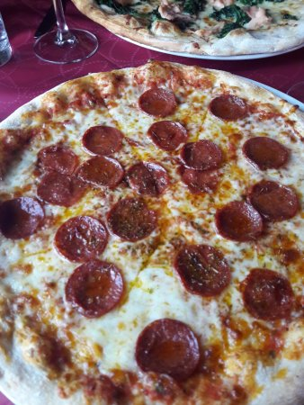 Dalkey, Irlanda: Pepperoni Pizza